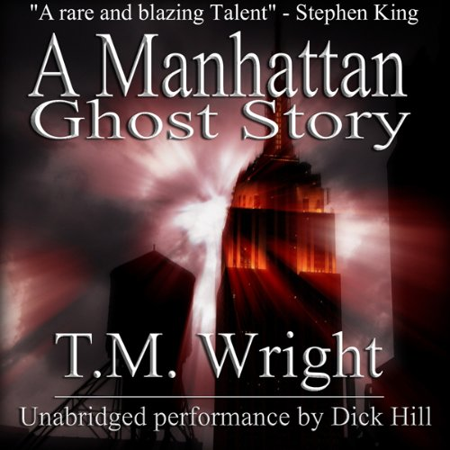 A Manhattan Ghost Story audiobook cover art