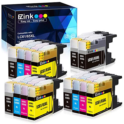 E-Z Ink (TM) Compatible Ink Cartridge Replacement for Brother LC-61...