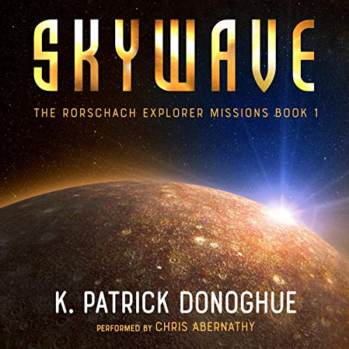 Skywave audiobook cover art