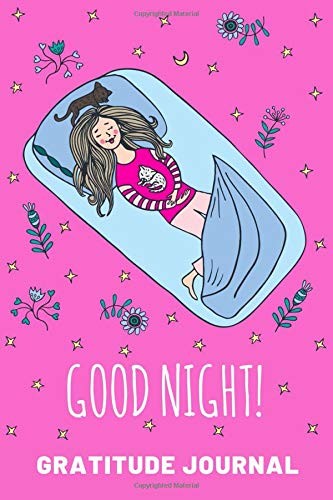 Good Night Gratitude Journal For Girls | Prompt Diary For Child To Practice Writing & Sketching | Pink Activity Notebook for Children on Summer ... New Ideas | Sketchbook Pages to Draw Pictures