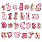 SUPVOX 26 Piezas Parches de Letras Parches de Alfabeto Nombre Personalizado...
