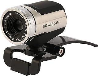 CttiuliSxt Webcam, USB Computer Camera, Web Camera with Built-in Digital Microphone, 360 ° Rotation of Head HD Webcam Meet...