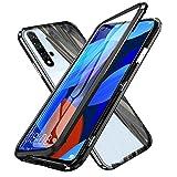 XTCASE Hülle für Huawei Nova 5T, Magnetische Adsorption