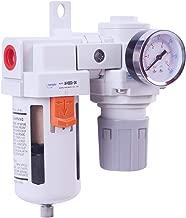 NANPU ARF4000 Compressed Air Filter Regulator Combo Piggyback 1/2