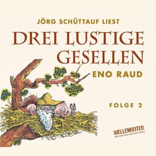 Drei lustige Gesellen 2 audiobook cover art