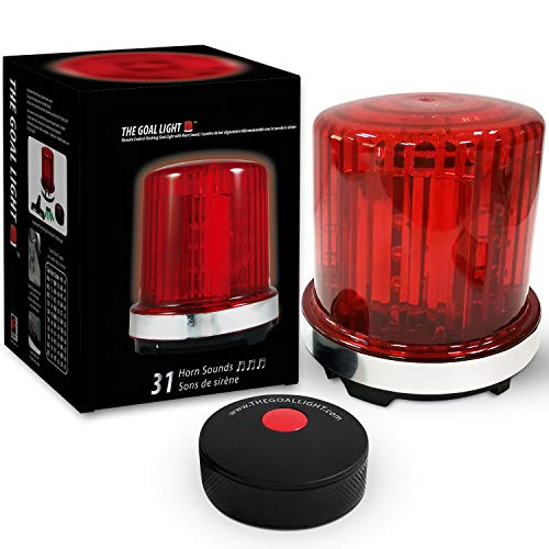 Fan Fever The Original Goal Light - Pro Hockey Red Light - Horn Sounds of all 31 Teams