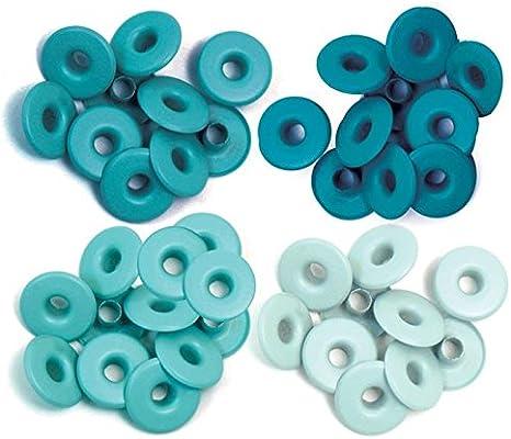 We R Memory Keepers 0633356415893 Ojales Anchos para álbumes de Recortes (Aluminio), Color Azul, Agua: Amazon.es: Hogar