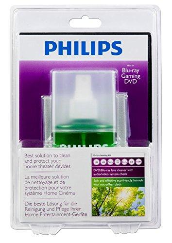 Philips SVC4255G Kit de nettoyage DVD pour TV LCD/Plasma/LED