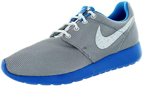 Nike - Roshe One GS - Color: Azul-Blanco-Gris - Size: 33.5