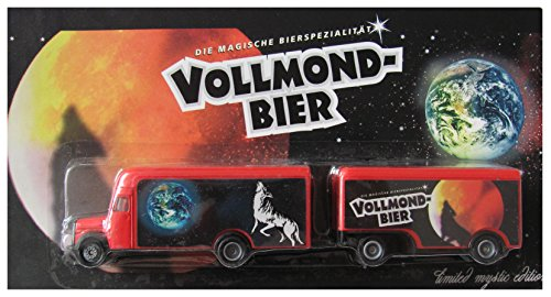 Wolfshöher Nr.55 - Vollmond Bier - MB L311 Koffer - Hängerzug Oldie