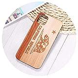 California Republic Bear Real Wood Phone Case Coque Funda for iPhone 12 Mini 6Plus 7 7Plus 8 8Plus X...
