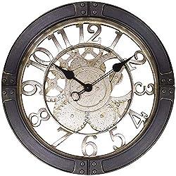 Westclox NYL32947 16 Gears Wall Clock, Bronze