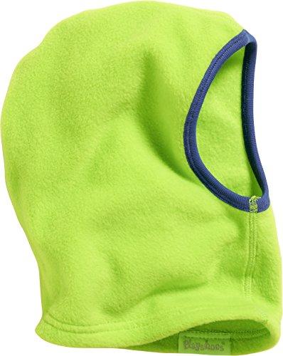 Playshoes Kinder-Unisex Fleece softe und atmungsaktive Schlupfmütze, grün, one size