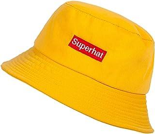 JYHOPE قبعة دلو للنساء للجنسين حرف التطريز قبعة حزمة قبعات قناع يومية
