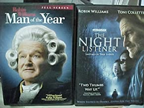 The Night Listener , Man of the Year : Robin Williams 2 Pack Collection