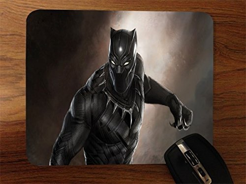 Comic Book Hero Desktop Office Silicone Mouse Pad by Compass Litho