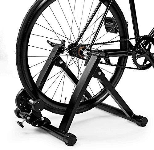 Hyl Rodillo Bicicleta,Fluid Bike Trainer Stand Entrenador de Ciclismo Entrenamiento en casa...