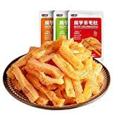 200 g Yanjin Shop Konjac Picante Franja Comedor Casual Snacks Red Instant Snacks Red Hot and Sour (20 bolsas) 200 g