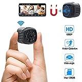Mini Kamera WiFi WLAN Kleine Überwachungskamera HD TANGMI Tragbare Mikro Nanny Cam mit