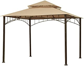 ABCCANOPY Gazebo Replacement Canopy roof for Target Madaga Gazebo (Beige)