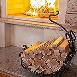 Leña para Chimenea y BBQ - Leña Secada en Horno para Estufas y Barbacoas - Encendedores ECO Incluidos en el Interior