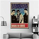 DNJKSA Beastie Boys Musik Sänger Poster Hip Hop Rap Musik