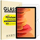 XunyLyee [2 Piezas] Protector de Pantalla Compatible Con Samsung Galaxy Tab A7 2020, Cristal Templado Film para Galaxy Tab A7 10.4 (2020) SM-T500/SM-T505/T507