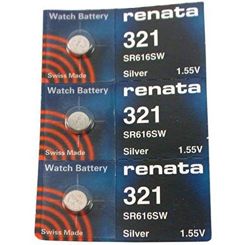 # 321Renata Uhren Batterien 3