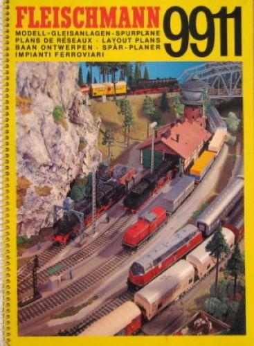 Fleischmann 9911 Modell- Gleisanlagen-Spurpläne