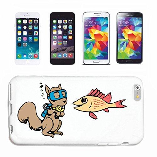 Reifen-Markt Funda para teléfono móvil compatible con Huawei P9, diseño de ardilla de buceo, dibujos animados, diversión, película de dibujos animados, divertido, culto, F