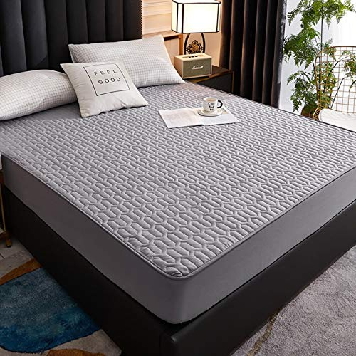 haiba Waterproof mattress protector mattress cover is light, breathable and hypoallergenic