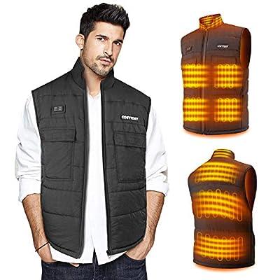 Amazon - Save 65%: Heated Vest for Men/Women, Collar Heating Jacket Heater W…