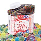 KOODER Water Beads,50000 Pcs,Water Gel Beads Pearls for Vase Filler, Wedding Centerpiece, Home Decoration, Plants, Toys.