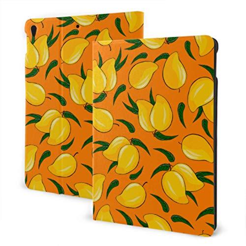 Funda para el Nuevo iPad 2019 iPad Air3 / 2017 iPad Pro 10,5 Pulgadas Funda / 2019 iPad 7 ° 10,2 Pulgadas Funda Delicious Yellow Mango Funda Protectora para iPad Auto Wake/Sleep