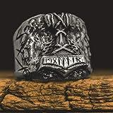 SDFASD Fils D'Odin Thor Marteau Biker Bague Viking Mens Rune Amulette Rune Anneaux Nordique Bijoux Cadeau pour Lui 8