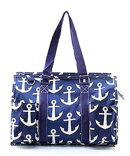 N Gil All Purpose Organizer Medium Utility Tote Bag (Anchor Navy)