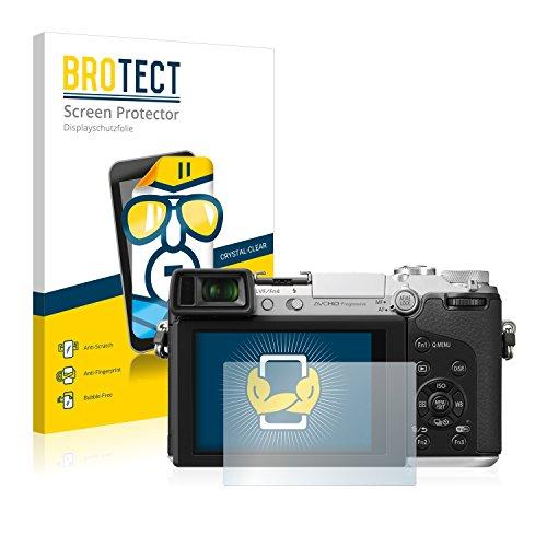 brotect Pellicola Protettiva Compatibile con Panasonic Lumix DmC-GX7 Pellicola Trasparente (2 Pezzi) Anti-Impronte