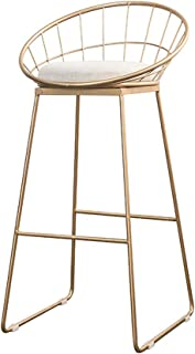 Best gold counter chair Reviews