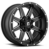 FUEL Maverick NBD-Matte BLK MIL Wheel with Painted (20 x 10. inches /6 x 135 mm, -24 mm Offset)
