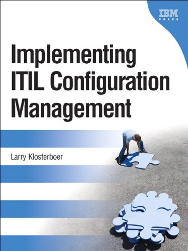 Implementing ITIL Configuration Management (paperback) (IBM Press)