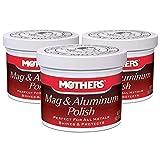 Car Metal Polish, 5 oz. Mothers Mag and Aluminum Polish (3)