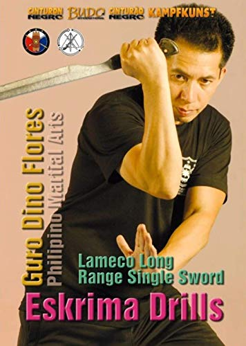Lameco Eskrima Single Sword DVD with Dino Flores