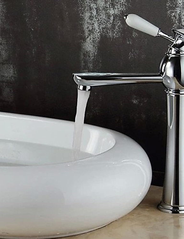 HJKDGH Faucet Luxury European Style Chrome Bathroom Sink Faucet-Slive