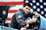 Film-Poster USA Tom Cruise Top Gun Hochglanz-Finish –