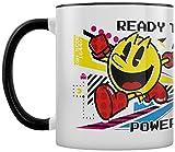 Pac-Man Power Up 2-Tone Tazza Bianca