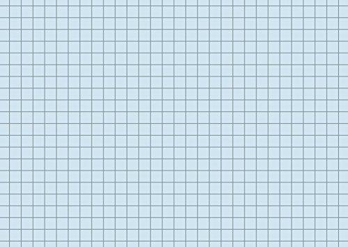 Brunnen 102260230 Karteikarte, blau