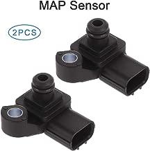 ECCPP 2PCS Manifold Absolute Pressure Sensor Fit For 2005-2008 Acura RL 2005-2006 Acura RSX 2005-2008 Acura TL 2006-2008 Acura TSX MAP Sensor