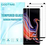 Galaxy Note 9 Tempered Glass Screen Protector [Case Friendly] Gootime Samsung Galaxy Note 9 Screen Protector Glass [Bubble Free] Samsung Note 9 Screen Saver (Note 9 Black 2 Packs)