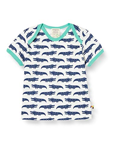 Loud + Proud T- Shirt Allover Print Organic Cotton, Bleu (Ultramarin UL), 62/68 Bébé garçon