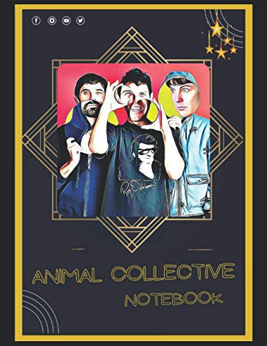 Animal Collective Notebook: A Large Notebook/Composition/Journal Book with Over 120 College Lined Pages - Great Gift for a Close Friend or a Family